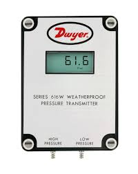 series 616w differential pressure transmitter which has a lcd