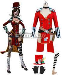 Borderlands Halloween Costume Borderlands Mad Moxxi Halloween Suit Attire Hat Belt