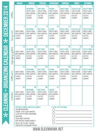net pattern dec 2014 start here free december 2014 free cleaning organizing calendar