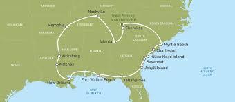 Okefenokee Swamp Map Südstaaten Rundreise Der Romantische Süden Der Usa Canusa