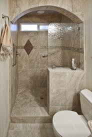 Tile Designs For Bathrooms For Small Bathrooms Walk In Shower No Door Carldrogo Com Bathroom Remodel Window