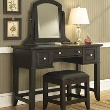 Sei Mirrored Vanity Desks Makeup Table Vanity Mirror With Lights For Bedroom Grey