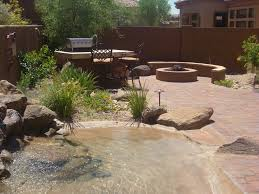 Backyard Grill Area by Custom Grills And Outdoor Cook Areas Berry U0027s Custom Landscapes
