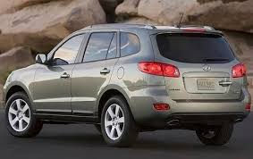 suv of hyundai used 2009 hyundai santa fe suv pricing for sale edmunds
