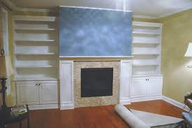 fireplace built ins around fireplace diy built in cabinets