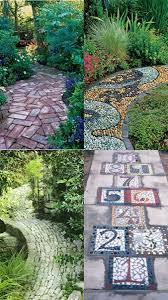 Garden Stone Ideas by 214 Best Garden Paths U0026 Walkways Images On Pinterest Gardening