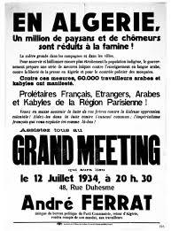si e parti communiste andré ferrat et la création du parti communiste algérien 1931 1936