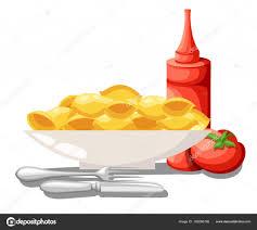 site cuisine italienne vector set de macaroni pâtes collection cuisine italienne sauce de