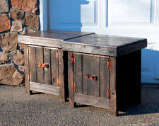 rustic end tables cheap rustic end tables ebay