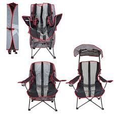 Folding Camping Chairs With Canopy Original Canopy Chair Navy And Gray