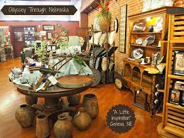 A Home Decor Store by A Little Inspiration Home Decor And Gift Store In Geneva Nebraska