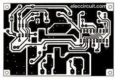 layout pcb inverter scr mini power inverter minis generators and circuits