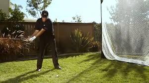sklz quickster golf hitting net w target youtube