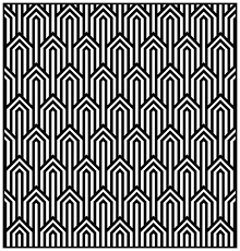 art deco pattern coloring page style n 1 from the gallery