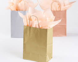 metallic gift bags 20 metallic gold gift bags with handles for wedding guests
