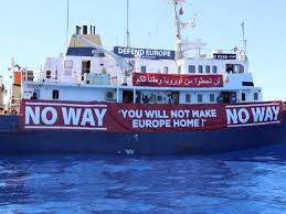 anti migrant activists refuse help from humanitarian rescue ship