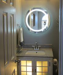 Round Bathroom Mirrors by Lighted Vanity Mirror