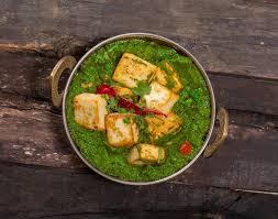 cuisine decorative palak paneer stock image image of rajasthani gravy 105466811