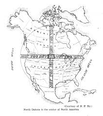 Nd Map Climate Map Of North America N D Centric 1929 The Infomercantile