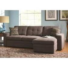 Sectional Pull Out Sofa Coaster Gus Charcoal Chenille Upholstery Small Sectional Storage