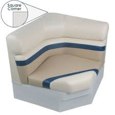 square corner bench boat seat p205 deluxe 32 1 2 inch