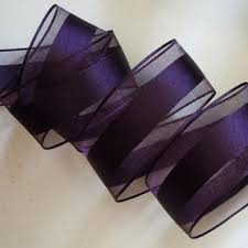 eggplant ribbon wired christmas ribbon decorations gold from all ribbons and