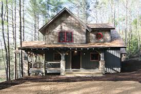 Rustic Cabin Plans Floor Plans Wrap Around Porch 18733ck Architectural Designs House Plans