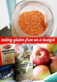 eating gluten free on a budget the pretty bee