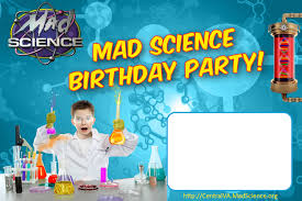 Invitation Card 7th Birthday Boy Science Party Invitations U2013 Gangcraft Net