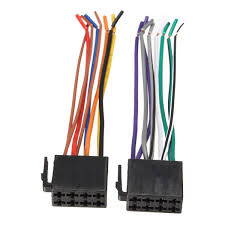 universal wire harness adapter connector cable radio wiring