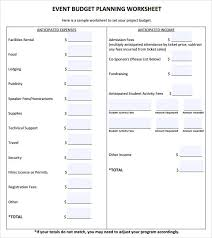 sample budget plan 7 documents in pdf word excelevent budget