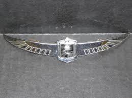 1939 cadillac lasalle grill emblem ornament ebay