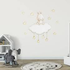 Fabric Wall Decals For Nursery Fabric Wall Decal Bunny And Nursery Wall Decal