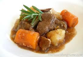 easy crockpot beef stew gf df the nourishing home