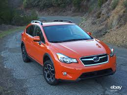 subaru orange crosstrek review 2013 subaru xv crosstrek ebay motors blog