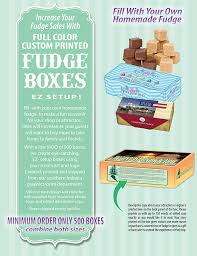 fudge boxes wholesale custom printed fudge boxes squire boone products bloom