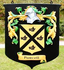purcell family crest danthonia designs usa