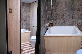 Japanese Bathtubs Small Spaces Deep Bathtubs For Small Bathrooms Interior Soaking Tubs For Small