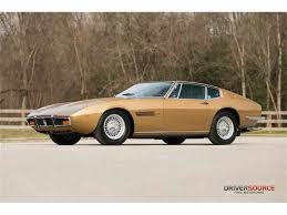 gold maserati ghibli 1971 to 1973 maserati ghibli for sale on classiccars com