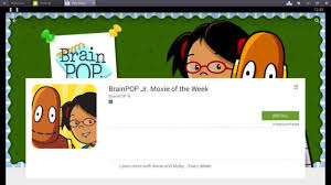 play brainpop jr of the week on mac and pc