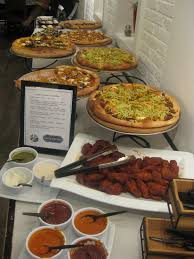 Brunch Setup In The Kitchen Pizza Party With Top Chef Stephanie Izard And