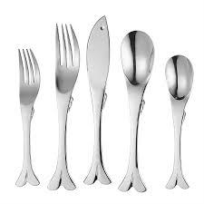 fish flatware set