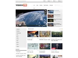11 best youtube style video sharing themes for wordpress 2017