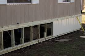 skirting mobile homes mobile home skirting outdoors pinterest