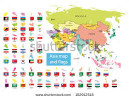 map of countries of asia asia map vector free vector stock graphics images
