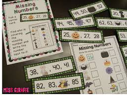 miss giraffe u0027s class halloween math ideas