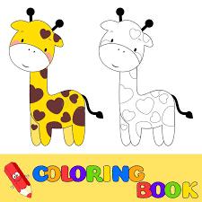 imagenes de jirafas bebes animadas para colorear bebe jirafa para colorear download para vector jirafa bebe animada