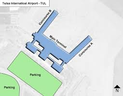 tulsa airport map tulsa airport map pictures to pin on pinsdaddy