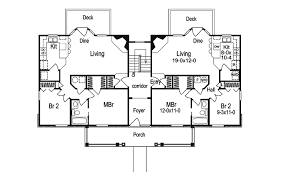 three plex floor plans shadywood manor fourplex home plan 007d 0096 house plans and more