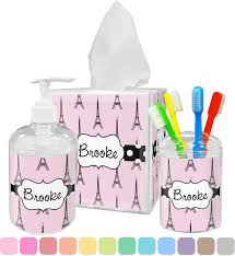 Eiffel Tower Accessories Eiffel Tower Tissue Box Cover Personalized Potty Training Concepts